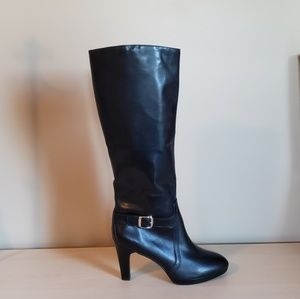 Alex Marie pull on leather boots